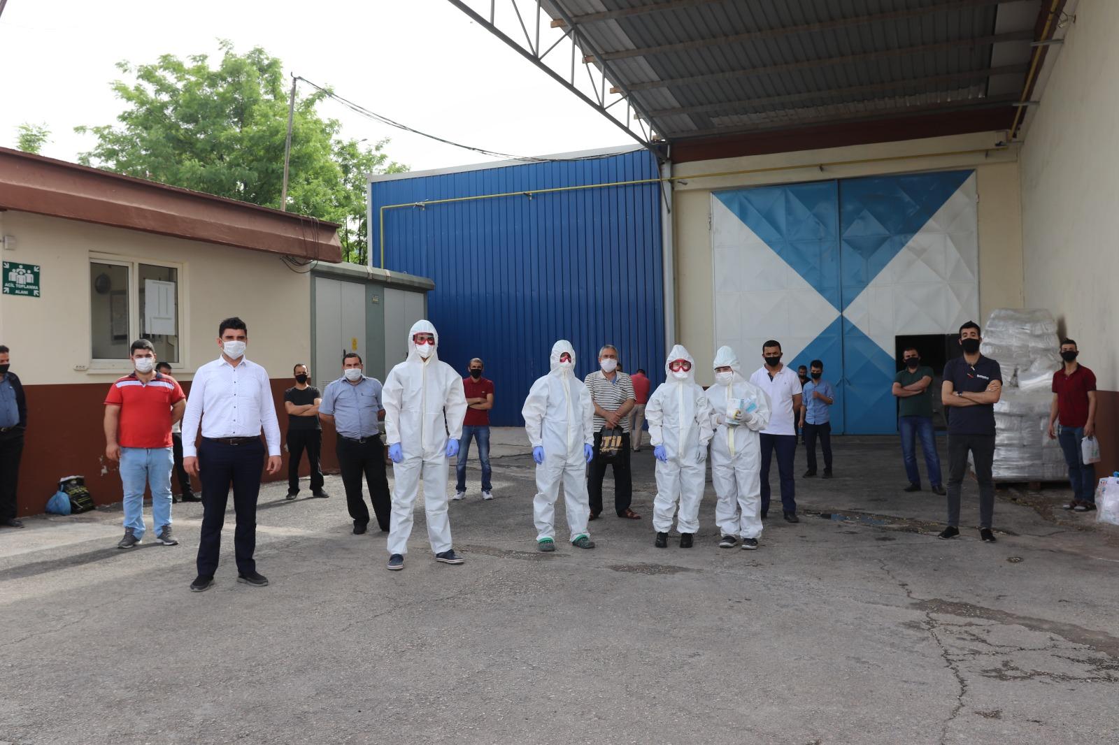 GAOSB'deki işletmelerde Covid-19 tarama testleri başladı